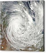 Tropical Cyclone Yasi Over Australia Acrylic Print