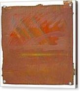Tsunami Morning Acrylic Print