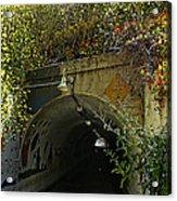 Tunnel At Crystal Cove Acrylic Print
