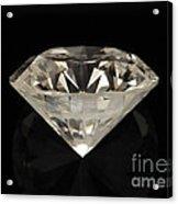 Two Karat Diamond Acrylic Print