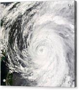 Typhoon Man-yi Acrylic Print