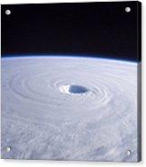 Typhoon Nabi Acrylic Print