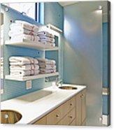 Upscale Bathroom Interior Acrylic Print