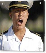 U.s. Naval Academy Midshipmen Acrylic Print