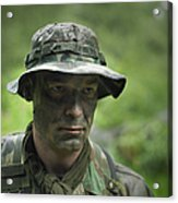 U.s. Special Forces Soldier Acrylic Print