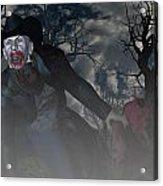 Vampire Cowboy Acrylic Print