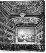 Venice: Teatro La Fenice Acrylic Print