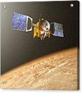 Venus Express Mission, Artwork Acrylic Print