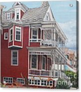 Victorian Afternoon Cape May Acrylic Print