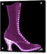Victorian Ladies Boot Acrylic Print