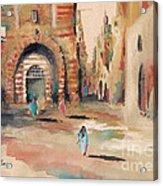Vieille Rue Du Caire 3 Acrylic Print