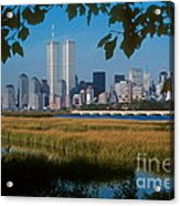 View From Liberty State Park Acrylic Print