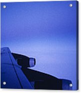 View Out The Window Of A Boeing 707 Acrylic Print