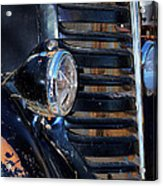 Vintage Car Grill Acrylic Print
