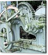 Vintage Steam Powered Lumber Collector Acrylic Print
