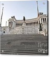 Vittoriano Monument To Victor Emmanuel II. Rome Acrylic Print