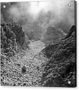 Volcanic Steam Acrylic Print