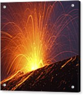 Vulcanian Eruption Of Anak Krakatau Acrylic Print