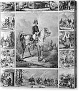 W. H. Harrison (1773-1841) Acrylic Print
