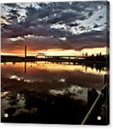 Wakamaw Valley Sunrise Acrylic Print