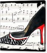 Waltzing Pumps Acrylic Print