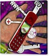 Wap Mobile Telephone Acrylic Print