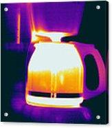 Warming Coffee Machine Acrylic Print