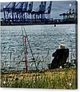 Watching The World Go By Acrylic Print
