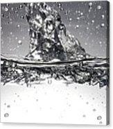Water, High-speed Photograph Acrylic Print