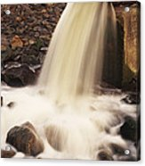 Water Pollution Acrylic Print