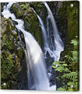 Waterfalls Of Sol Duc River, Olympic Acrylic Print