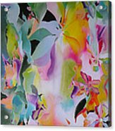 We Are The Lotus Acrylic Print