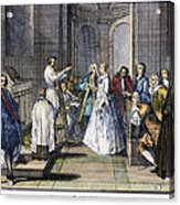 Wedding, C1730 Acrylic Print