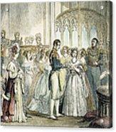 Wedding Of Queen Victoria Acrylic Print
