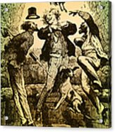 Weightlessness, 19th Century Acrylic Print