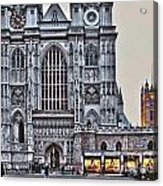 Westminster Abbey And  Victoria Tower Acrylic Print