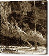 Whirlwinds, 1873 Acrylic Print