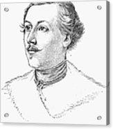 Wilhelm Mueller (1794-1827) Acrylic Print