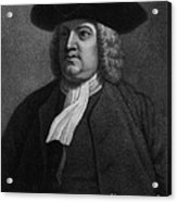 William Penn, Founder Of Pennsylvania Acrylic Print