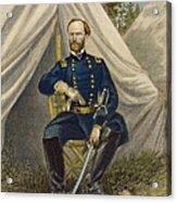 William Tecumseh Sherman Acrylic Print