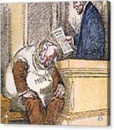Wilson Cartoon, 1913 Acrylic Print