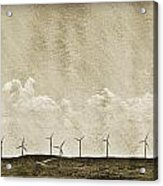 Windmills In A Row Acrylic Print