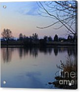 Winter Calm Acrylic Print