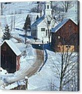 Winter Countryside Acrylic Print