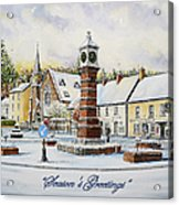Winter In Twyn Square Acrylic Print