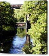 Wissahickon Creek  Acrylic Print