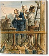 Witch Trial: Execution, 1692 Acrylic Print by Granger