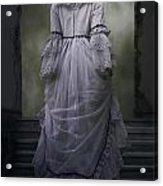 Woman On Steps Acrylic Print by Joana Kruse