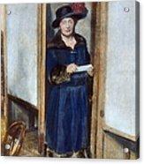 Woman: Voting, 1920 Acrylic Print