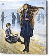 Womens Fashion, 1886 Acrylic Print